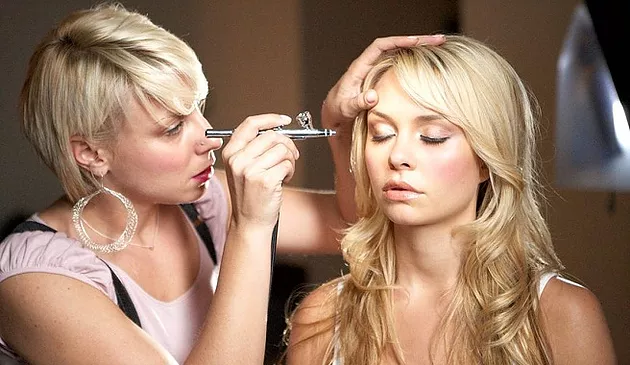 Ventajas de maquillaje con aerógrafo