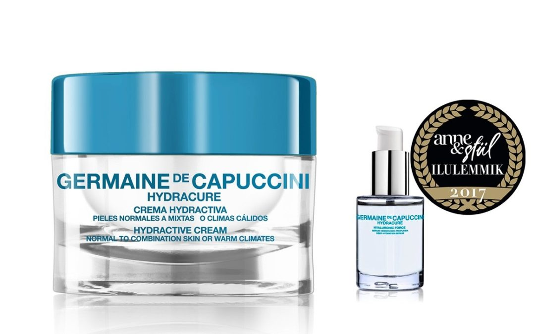 Hidratar tu piel en verano: te regalamos un pack Hydracure de Germaine de Capuccini