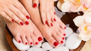 spa manicuras y pedicuras
