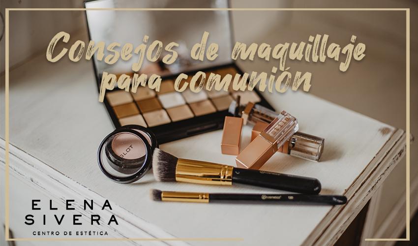 Consejos de maquillaje para comunión